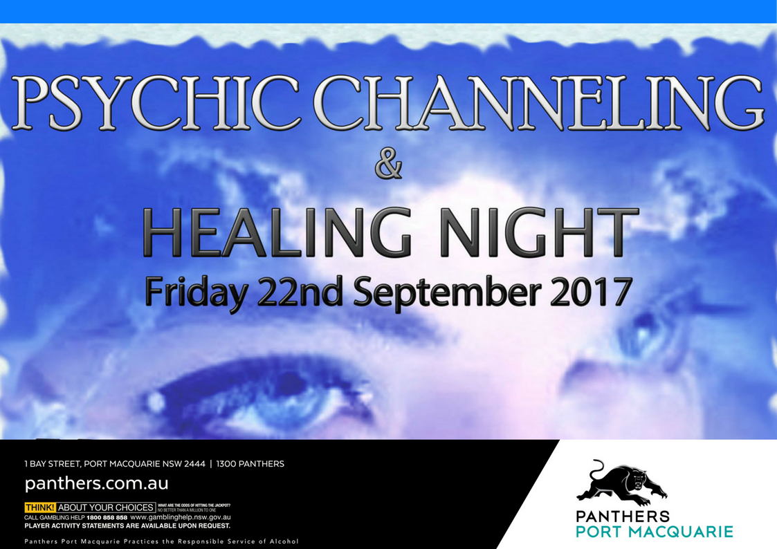 Mind Body Soul - Psychic Channeling Poster
