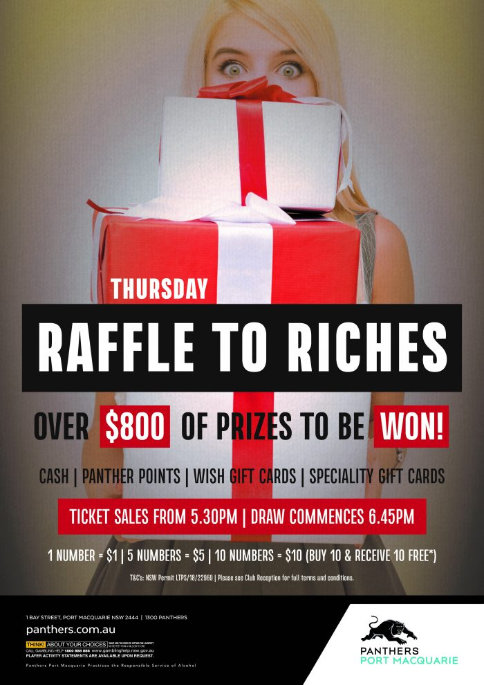 Raffle to Riches