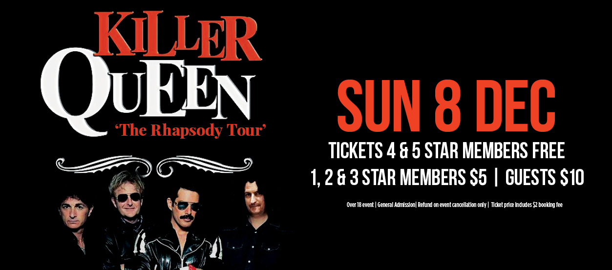 The Killer Queen Experience - MEMBERS SHOW | Panthers Port
